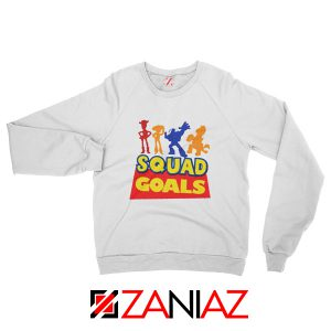 Toy Story Squad Goals Sweatshirt Disney Picture Sweatshirt Size S-2XL White