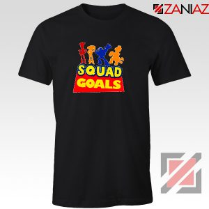 Toy Story Squad Goals T Shirt Disney Picture Tee Shirts Size S-3XL Black