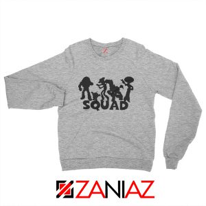 Toy Story Squad Graphic Sweatshirt Disney Pixar Sweatshirt Size S-2XL Grey