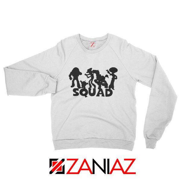 Toy Story Squad Graphic Sweatshirt Disney Pixar Sweatshirt Size S-2XL White