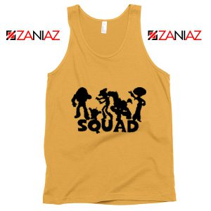 Toy Story Squad Graphic Tank Top Disney Pixar Tank Top Size S-3XL Sunshine