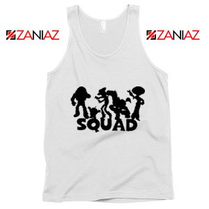 Toy Story Squad Graphic Tank Top Disney Pixar Tank Top Size S-3XL White