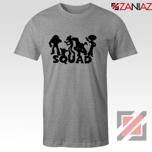 Toy Story Squad Graphic Tee Shirt Disney Pixar T-Shirt Size S-3XL Grey