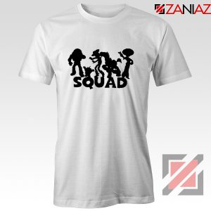 Toy Story Squad Graphic Tee Shirt Disney Pixar T-Shirt Size S-3XL White