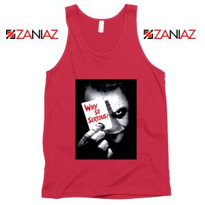 Why So Serious Tank Top Joker Film 2019 Tank Top Size S-3XL Red