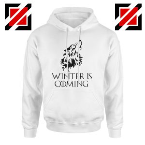 Winter Is Coming Hoodie Game Of Thrones Hoodie Size S-2XL White