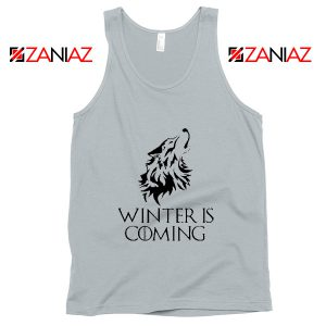 Winter Is Coming Tank Top Game Of Thrones Tank Top Size S-3XL Silver