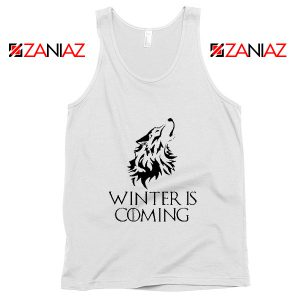 Winter Is Coming Tank Top Game Of Thrones Tank Top Size S-3XL White