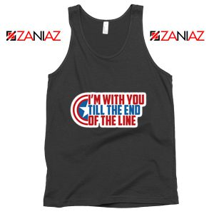 Winter Soldier I With You Till The End Of The Line Tank Top Size S-3XL Black