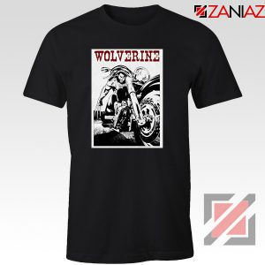 Wolverine Biker T-Shirt Marvel X-Men Cheap T-shirt Size S-3XL Black