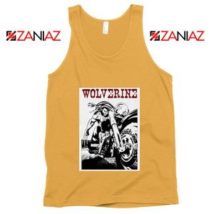 Wolverine Biker Tank Top Marvel X-Men Tank Top Size S-3XL Sunshine