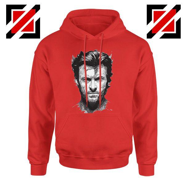 Wolverine Hoodie Design Wolverine Marvel Comics Size S-2XL Red
