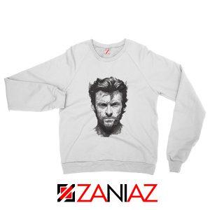 Wolverine Sweatshirt Design Wolverine Marvel Comics Size S-2XL White