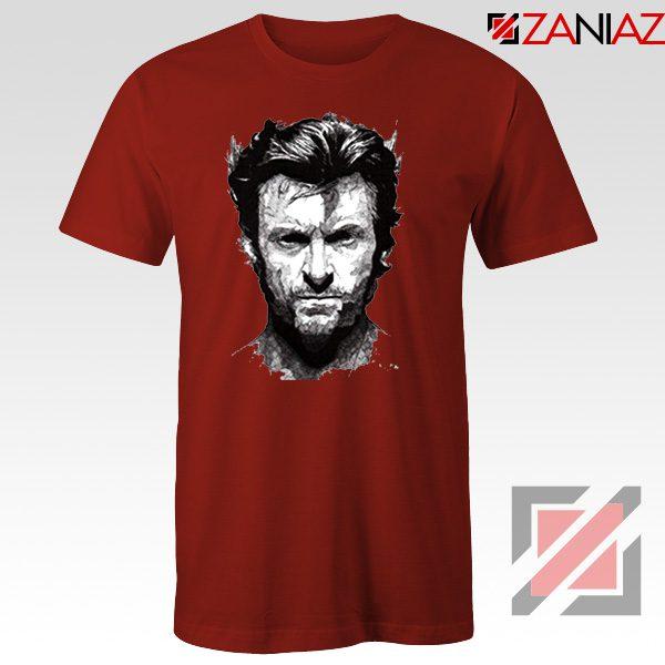 Wolverine T Shirt Design Wolverine Marvel Comics Size S-3XL Red