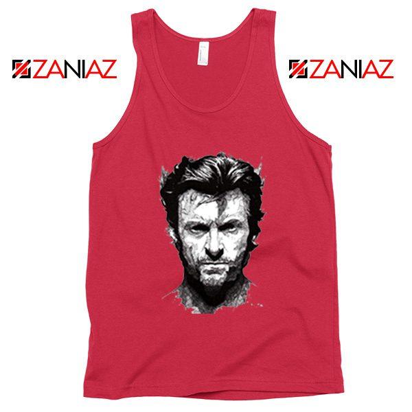 Wolverine Tank Top Design Wolverine Marvel Comics Size S-3XL Red