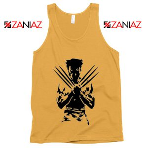 Wolverine Tank Top Marvel Comics Men's Tank Top Size S-3XL Sunshine