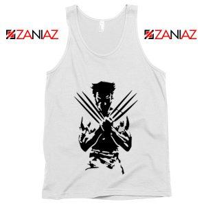 Wolverine Tank Top Marvel Comics Men's Tank Top Size S-3XL White
