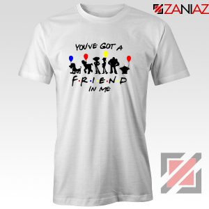 You've Got a Friend in Me Toy Story Disney Best T-Shirt Size S-3XL White