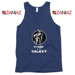 1 Dad In The Galaxy Tank Top Star Wars Design Tank Top Size S-3XL Navy Blue
