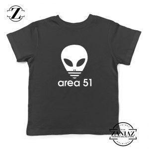 Area 51 Alien Funny Adidas Logo Parody Kids T-Shirt Red Black