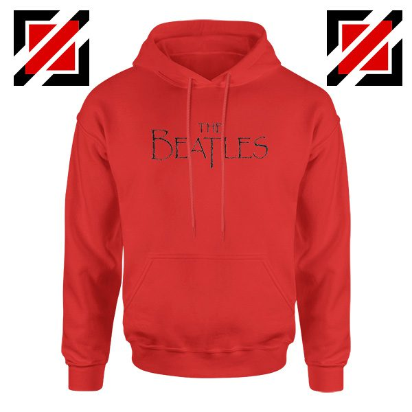 Band Logos The Beatles Hoodie Women Gift Hoodie Size S-2XL Red