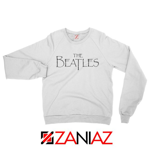 Band Logos The Beatles Sweatshirt Women Gift Sweatshirt Size S-2XL White