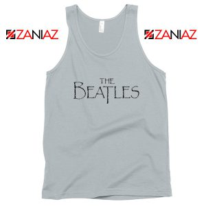 Band Logos The Beatles Tank Top Women Gift Tank Top Size S-3XL Silver