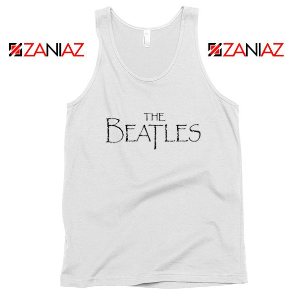 Band Logos The Beatles Tank Top Women Gift Tank Top Size S-3XL White
