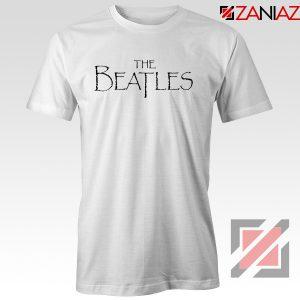 Band Logos The Beatles Tee Shirt Women Gift Tshirt Size S-3XL White
