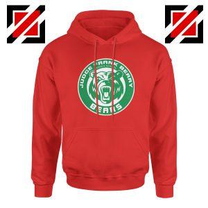 Berry Middle School Hoodie Starbucks Parody Hoodie Size S-2XL Red
