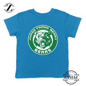 Berry Middle School Starbucks Parody Kids T-Shirt Size S-XL Blue