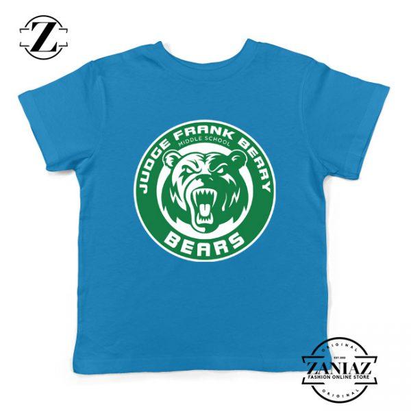 Berry Middle School Starbucks Parody Kids T-Shirt Size S-XL Blue