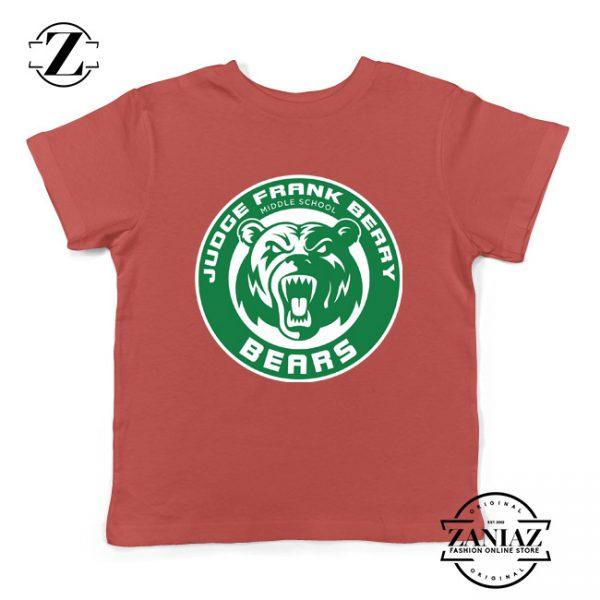 Berry Middle School Starbucks Parody Kids T-Shirt Size S-XL Red