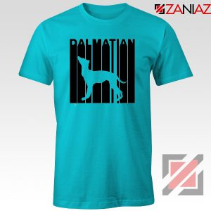 Best Dalmatian Animal T-Shirt Funny Animal T Shirts Size S-3XL Light Blue