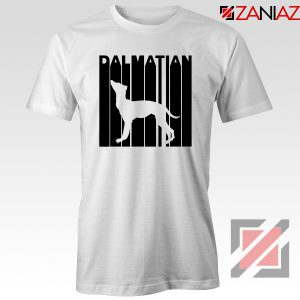 Best Dalmatian Animal T-Shirt Funny Animal T Shirts Size S-3XL White