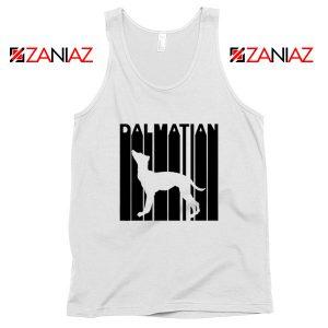 Best Dalmatian Animal Tank Top Funny Animal Tank Top Size S-3XL White