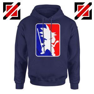 Best Funny NBA Goku Hoodie Sport Hoodie Size S-2XL Navy Blue