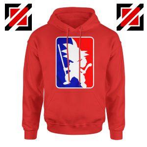 Best Funny NBA Goku Hoodie Sport Hoodie Size S-2XL Red