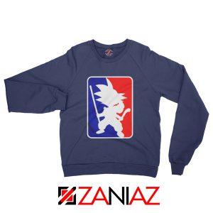 Best Funny NBA Goku Sweatshirt Sport Sweatshirt Size S-2XL Navy Blue