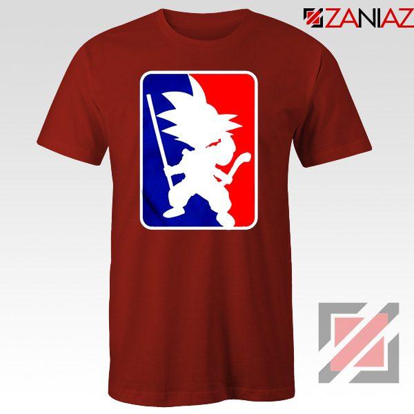Best Funny NBA Goku T Shirt Sport Tee Shirt Size S-3XL Red
