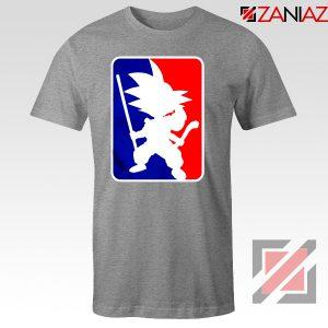 Best Funny NBA Goku T Shirt Sport Tee Shirt Size S-3XL Sport Grey