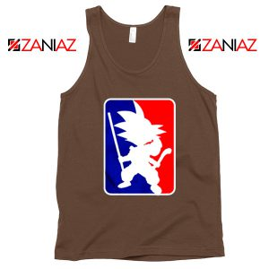 Best Funny NBA Goku Tank Top Sport Tank Top Size S-3XL Brown