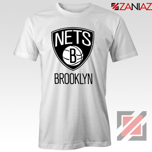 Best Gift Brooklyn Nets Logo T-Shirt NBA Tee Shirt Size S-3XL White