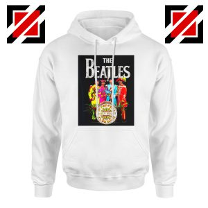 Best Lonely Hearts Band Hoodie The Beatles Hoodie Size S-2XL White