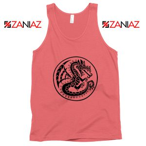 Best Monster Hunter Logo Tank Top Designs Video Games Tank Top Coral