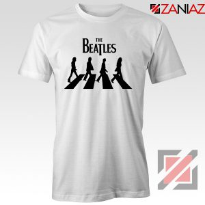 Best The Beatles Logo T shirt Music Band Tshirt Size S-3XL White