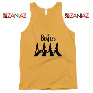 Best The Beatles Logo Tank Top Music Band Tank Top Size S-3XL Sunshine