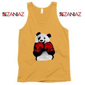 Boxing Panda Bear Tank Top Funny Animal Tank Top Size S-3XL Sunshine