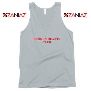 Broken Hearts Club Tank Top Funny Women Tank Top Size S-3XL Silver