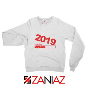 Buy 2019 Sweatshirt Happy New Year Women Sweatshirt Size S-2XL White